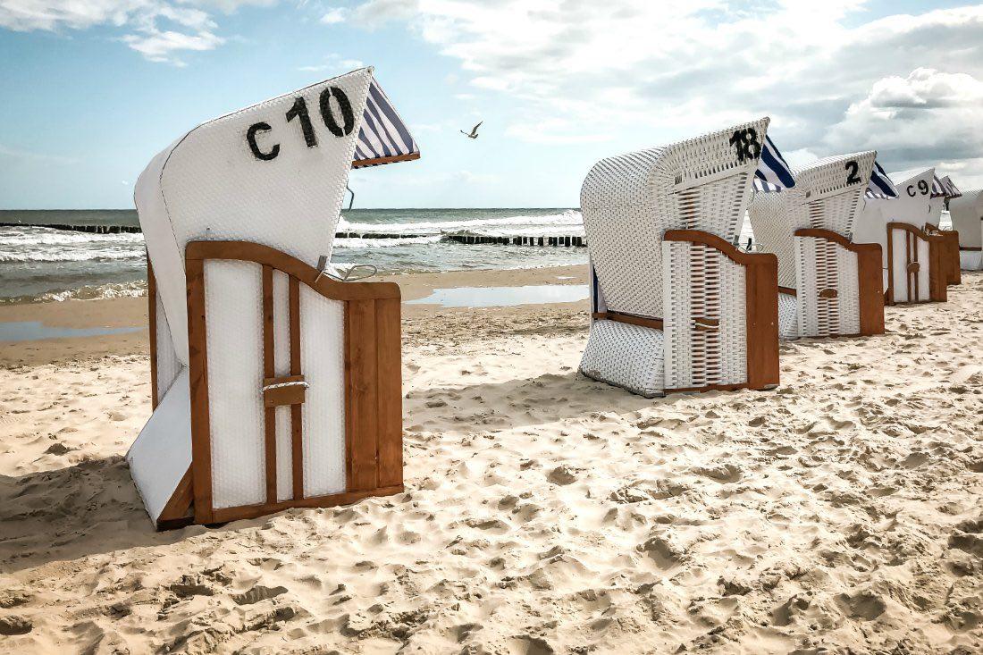 Kolberg Urlaub Erfahrungen mit Strand und Strandkörben