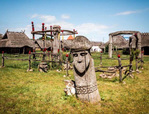 Slawen- und Wikingerdorf Wollin Polen