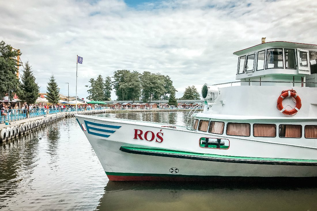 Schiffstour ab Gizycko Polen