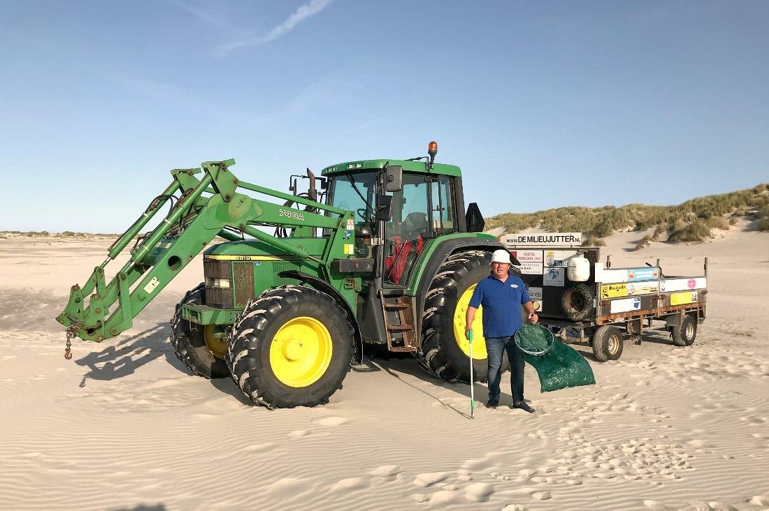 Beach Clean Up auf Terschelling