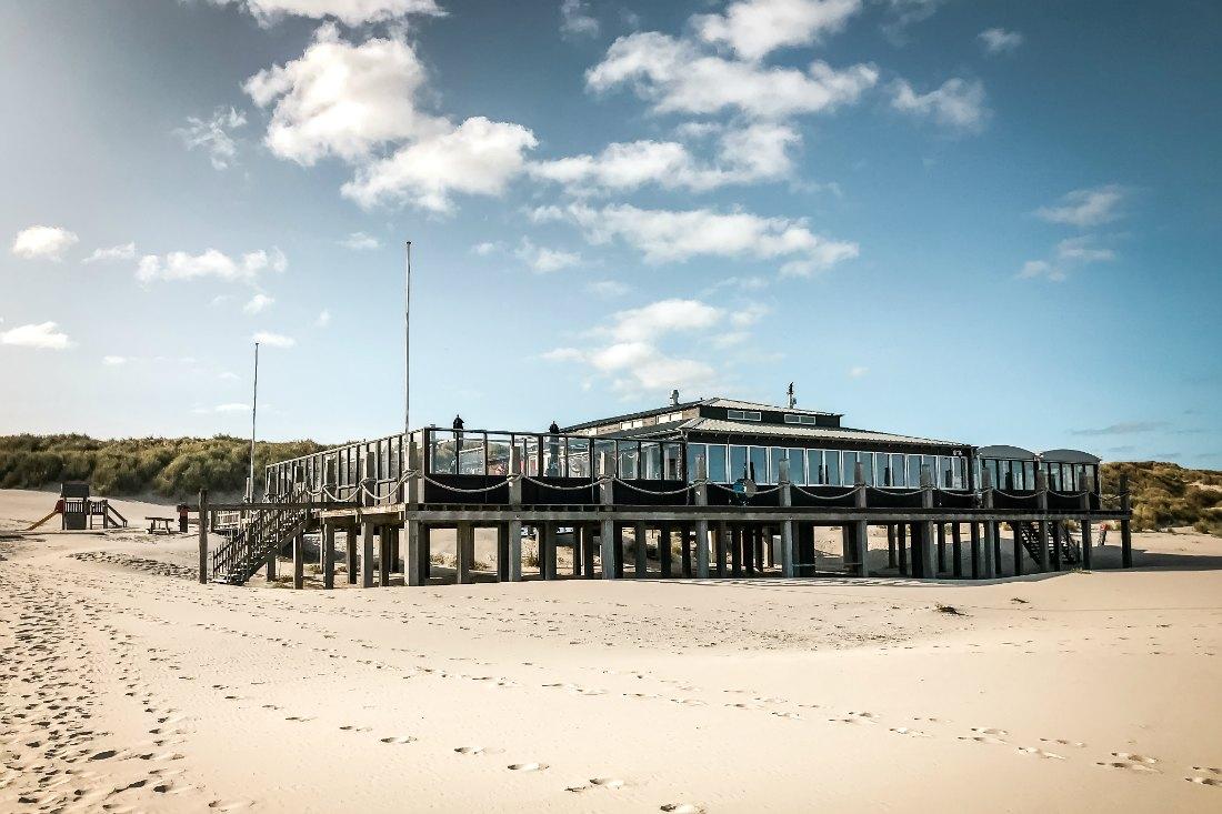 Strandrestaurant auf Terschelling