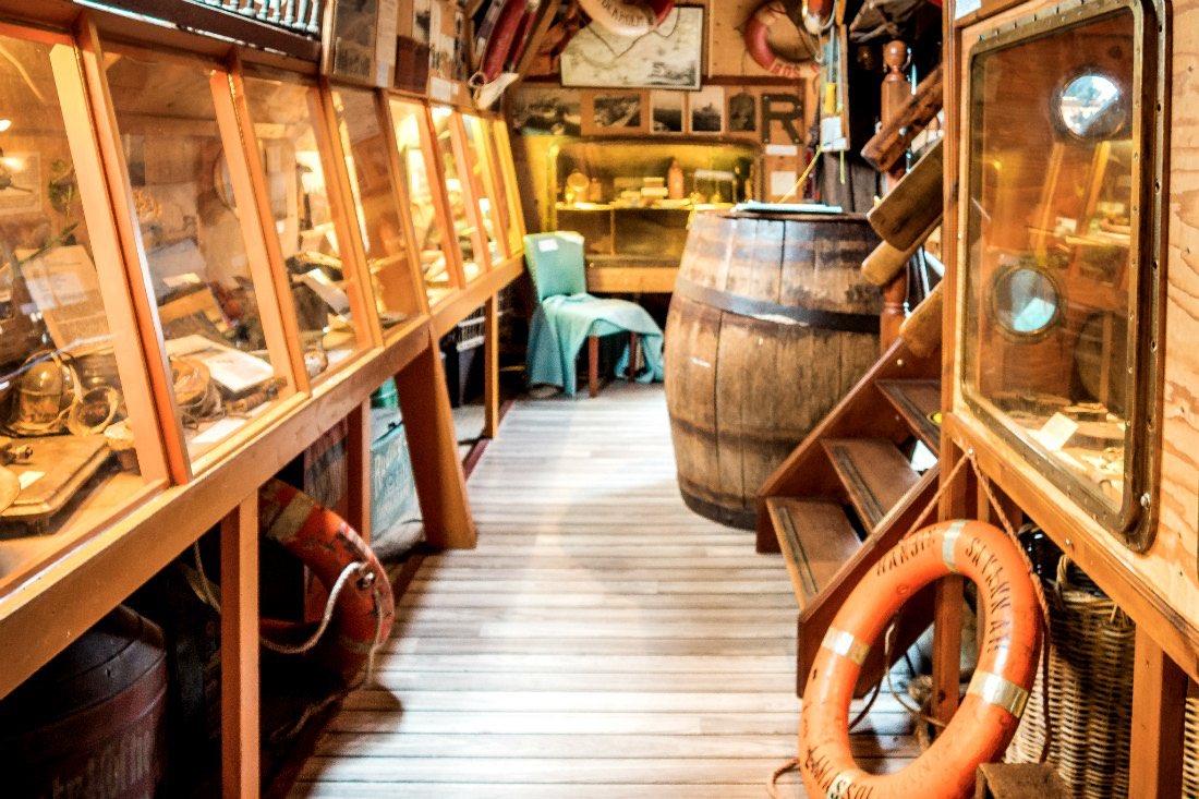 Schiffswrackmuseum Wrakkenmuseum Terschelling