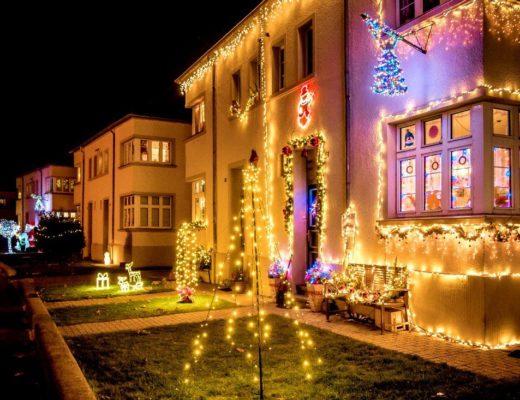 Weihnachten in der Webersiedlung Mönchengladbach