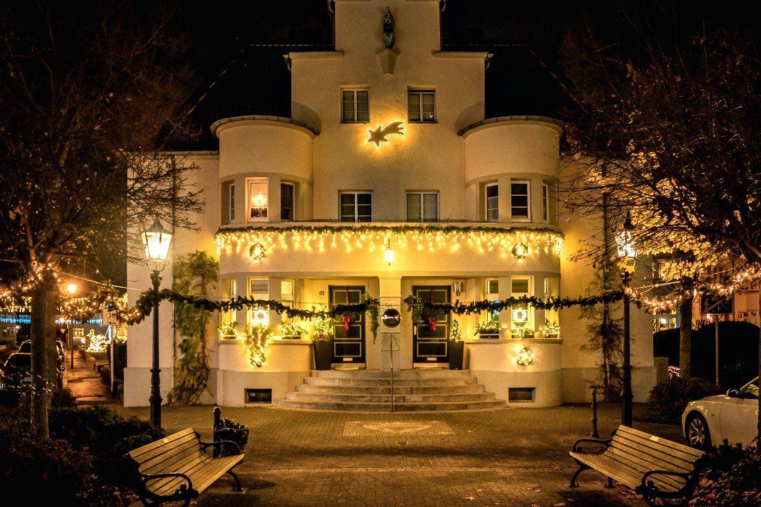 Webersiedlung zum Weihnachtsfest