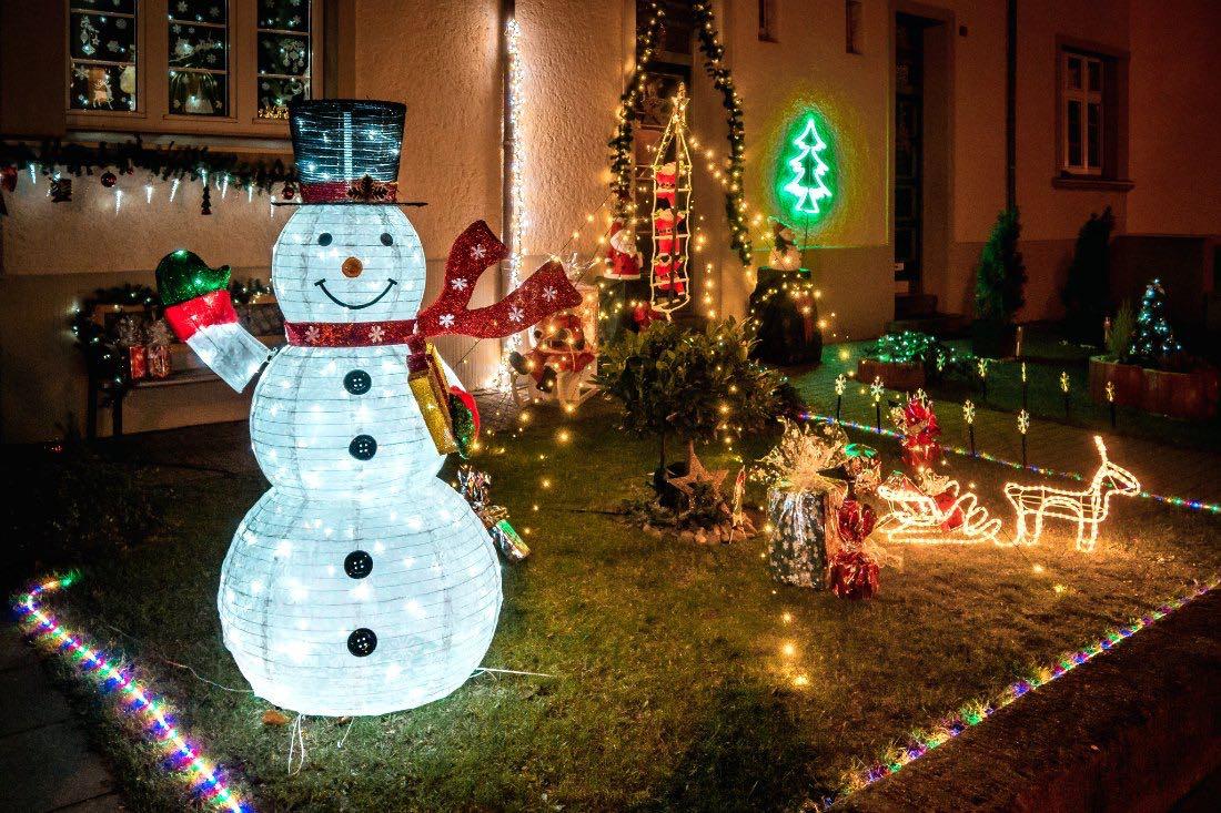 Webersiedlung Neuwerk Weihnachten