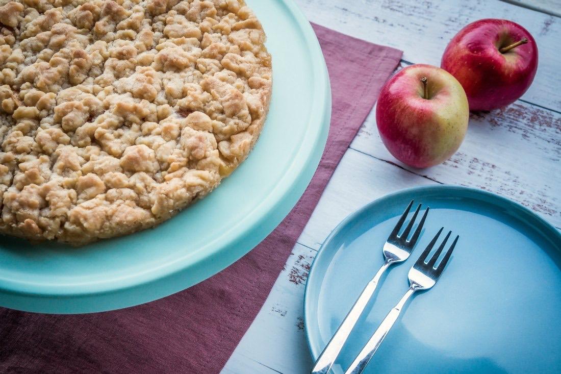 Schwedischer Apfelkuchen Rezept vegan