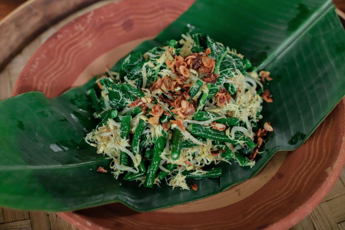 Indonesisches Gericht Urap-Urap