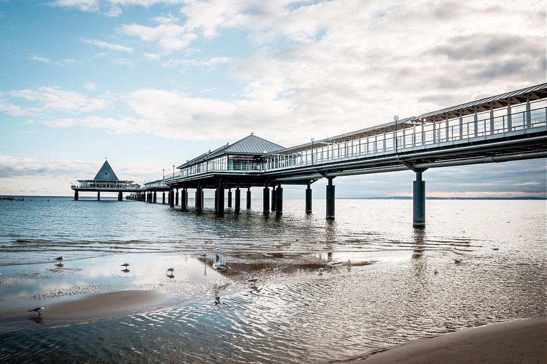 Heringsdorf die längste Seebrücke Deutschlands