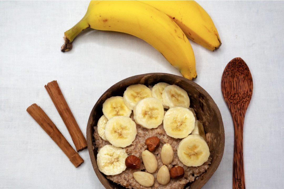 Veganes Haferbrei Rezept mit Bananen
