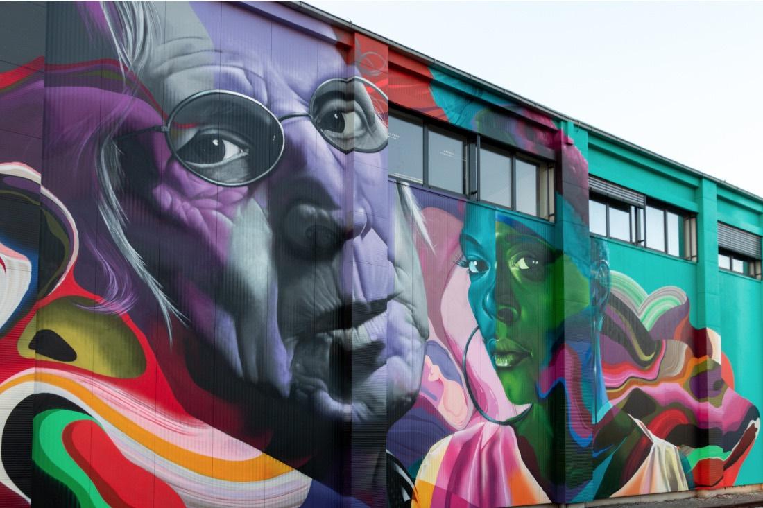 Mural Harbor Gallery in Linz