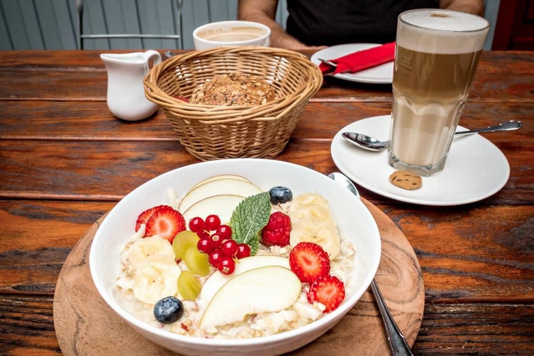 Frühstück im Bauernhöfe