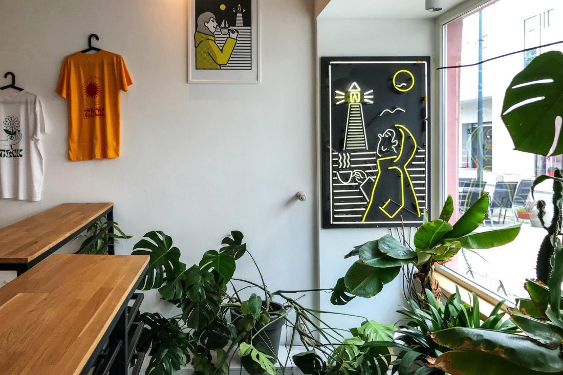 Café Tlok vegane Optionen