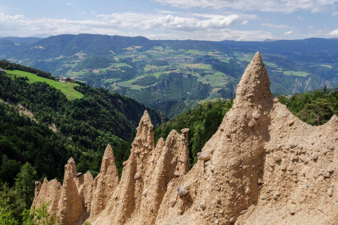 Steinegger Erdpyramiden in Südtirol