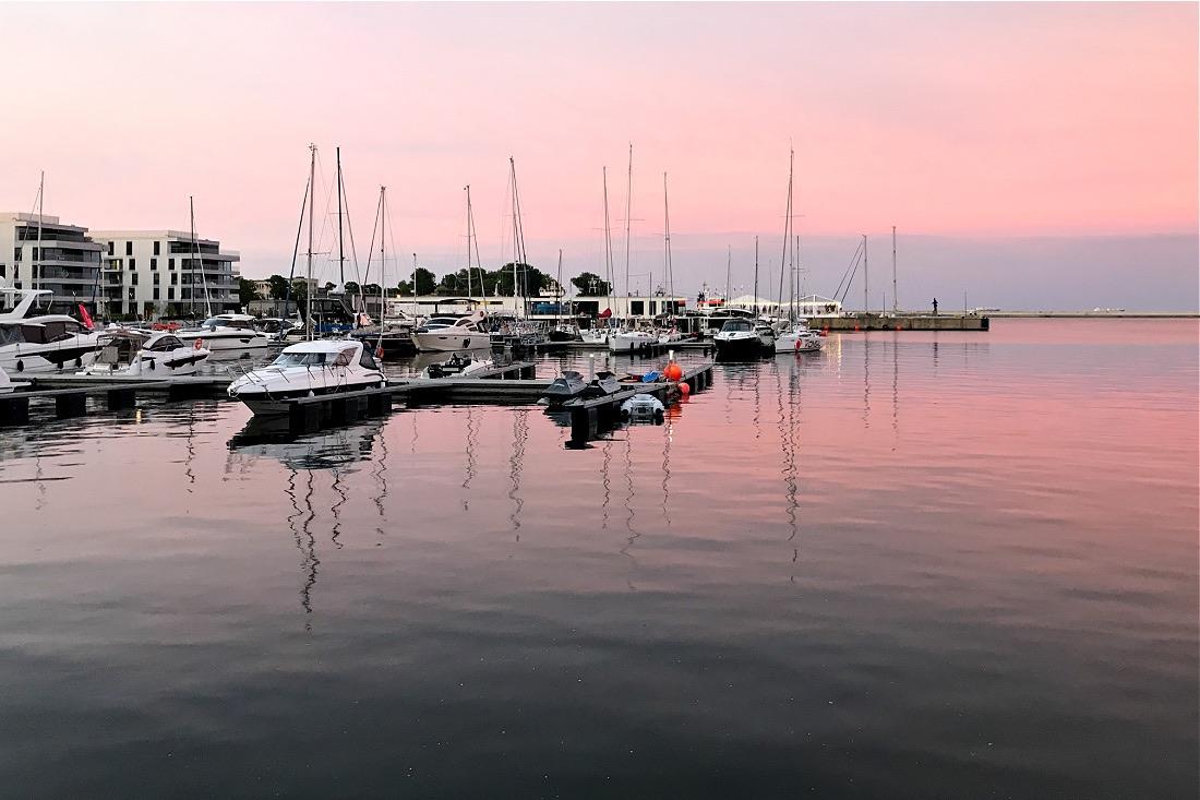 Hafen von Gdynia in Polen