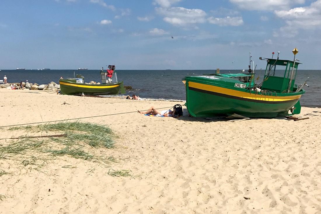 Strand vonOrłowo in Gdynia