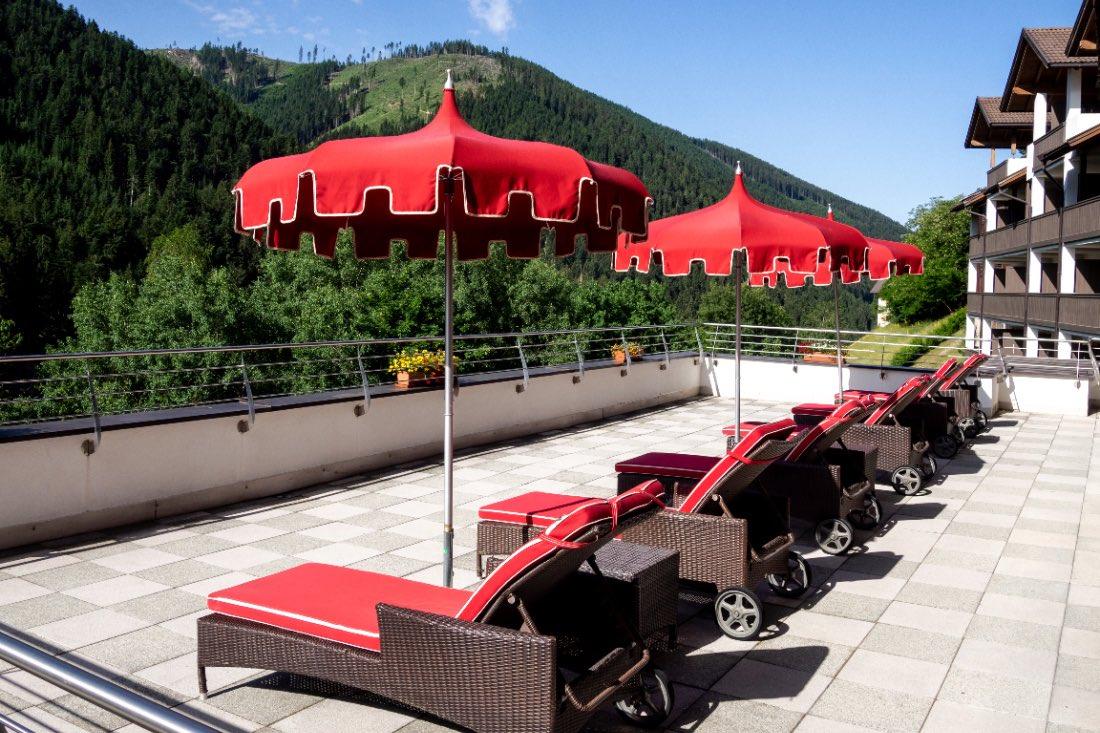 Sonnenterrasse Hotel Engel