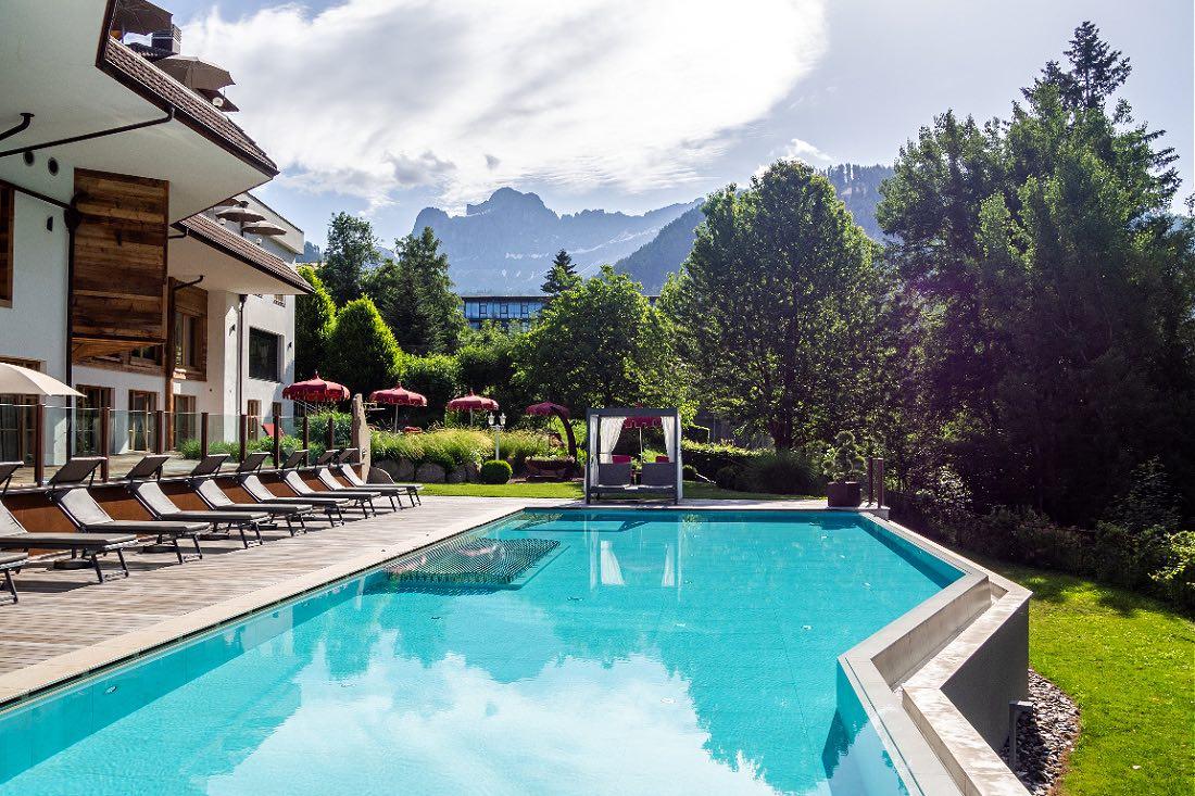 Engel Hotel in Südtirol mit Pool