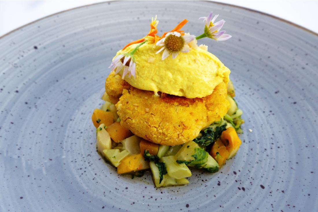 Wellnesshotel Engel Sterneküche veganes Essen Eggental