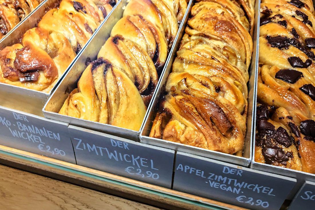 vegane Zimtschnecken Köln Frühstück