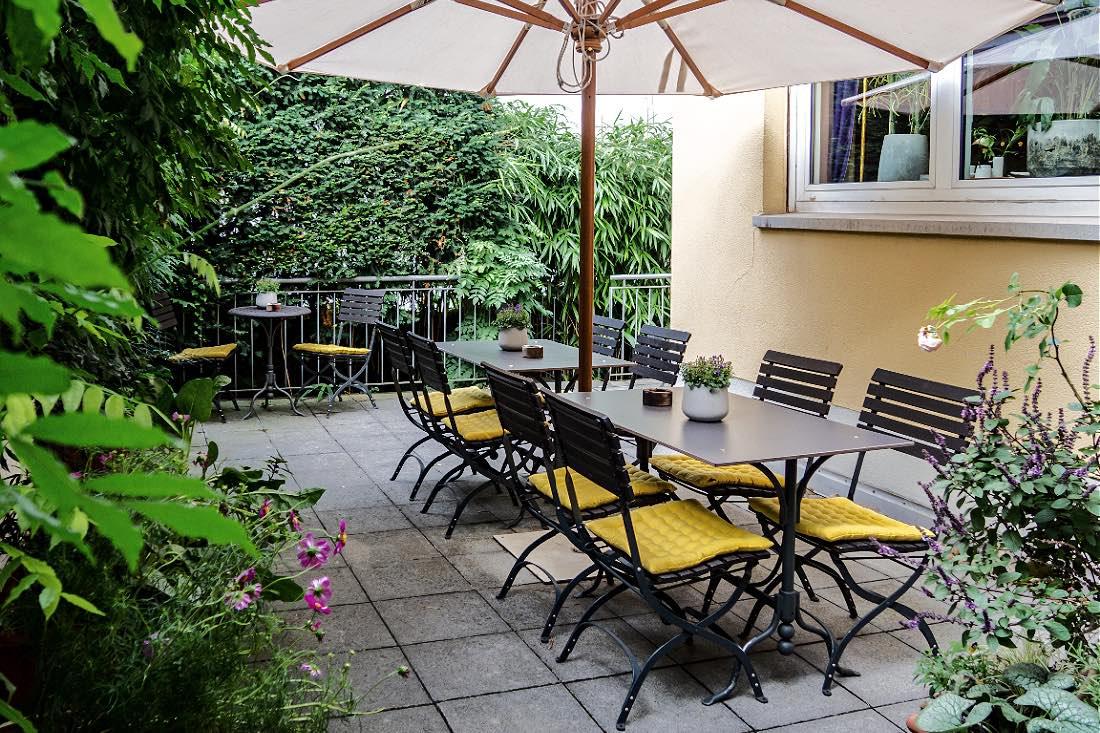 Terrasse Biohotel Villa Orange