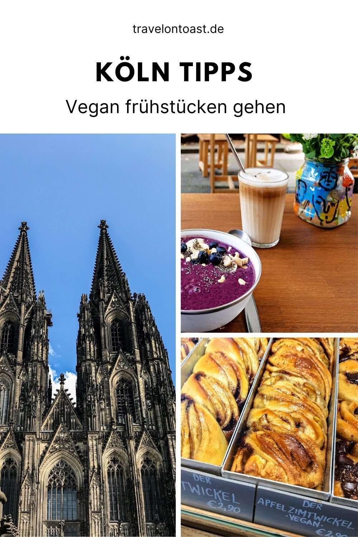 Du möchtest vegan frühstücken in Köln? Im Reiseblog findest du Köln Tipps für veganfreundliche und vegane Cafés mit Bowls, Pancakes oder Bagels. Richtig lecker essen gehen in den Szenevierteln Ehrenfeld und Belgisches Viertel.
