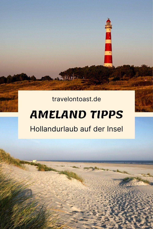 (Werbung) Die besten Ameland Tipps zu Sehenswürdigkeiten und Ausflugszielen, Strand, E-Bikes, Hotel und Restaurants auf der Insel. Alles für euren Holland Urlaub am Strand und Wattenmeer. #visitwadden #vvvameland #hiermusstdusein