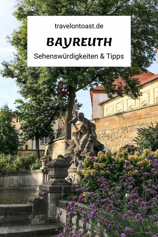(Werbung) Viele Opernfans träumen von den Bayreuther Festspielen. Andere schwärmen vom prächtigen Markgräflichen Opernhaus (UNESCO Weltkulturerbe). Doch es gibt noch mehr Sehenswertes in Bayern zu entdecken! Im Reiseblog verrate ich dir, welche klassischen Bayreuth Sehenswürdigkeiten sich bei einem Städtetrip richtig lohnen. Außerdem gebe ich Tipps für Street Art sowie Cafés und Restaurants mit veganem Essen.