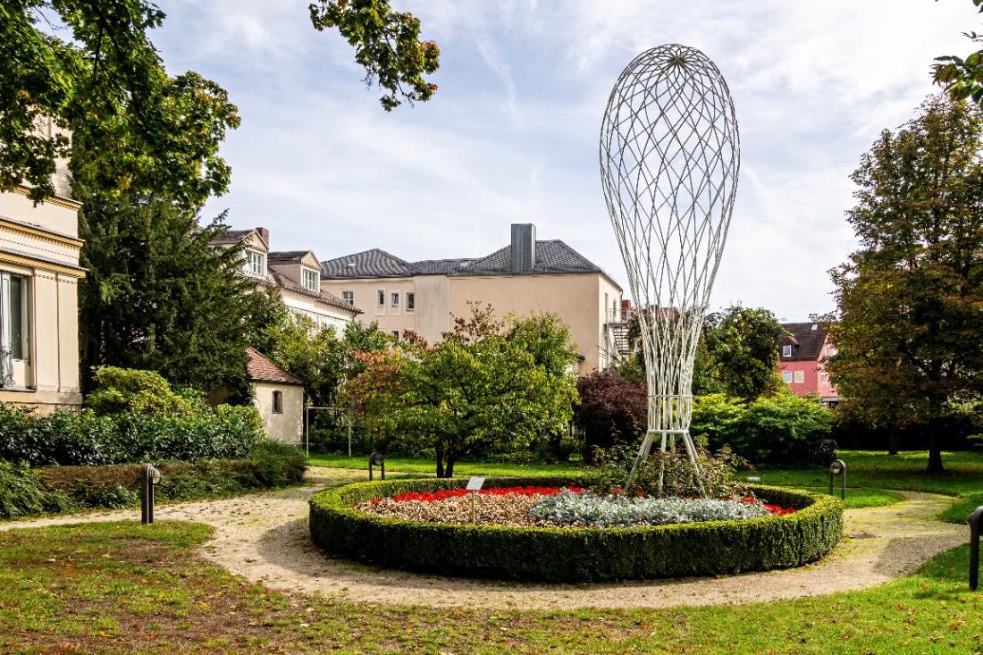 Open Air Galerie Bayreuth Skulptur Ballon Jean Paul
