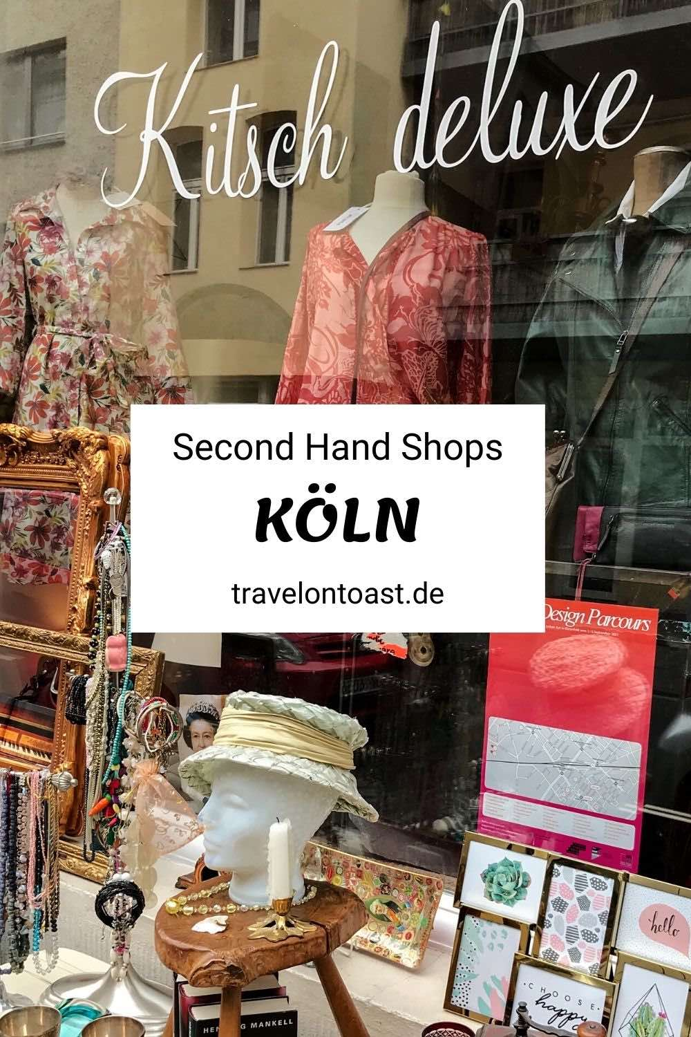 As a fan of second hand shops you will have a lot of fun in Cologne!  I lived in the cathedral city for twelve years and visited many, many second-hand shops.  In the travel blog you will find my tips for vintage shops where you can buy cheap and sustainable outfits and fashion - whether on Ehrenstrasse, Ehrenfeld or in the Belgian Quarter.  Have fun with second hand shopping!