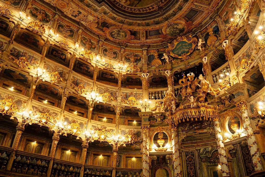 UNESCO Weltkulturerbe Markgräfliches Opernhaus Bayreuth
